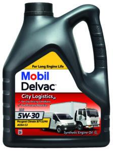 Mobil Delvac City Logistics P 5W30 - opak. 4L