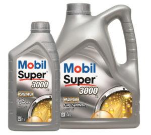 Mobil Super 3000 X1 5W40 - opak. 4L i 1L