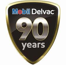 Mobil Delvac 90 lat - logo