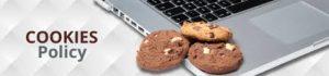 polityka cookies - klawiatura w laptopie