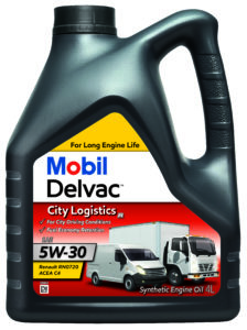 Mobil Delvac City Logistics R 5W30 - opak. 4L