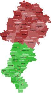 mapa dostawy plejów Mobil realizowane przez SmarT Plus
