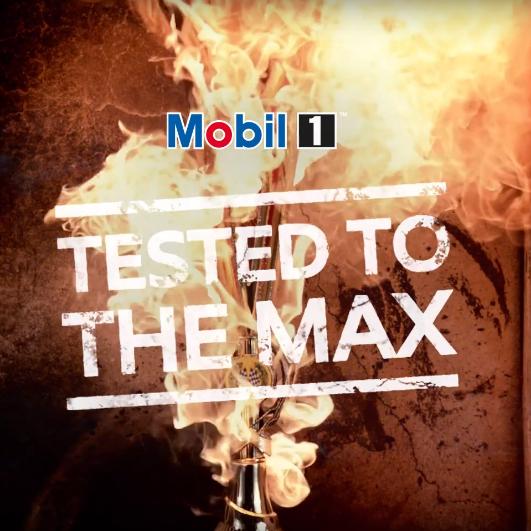 Testy na Maxa – Max Verstappen, kierowca Formuły 1 pokazuje ekstremalne warunki pracy oleju Mobil 1 podczas wyścigu