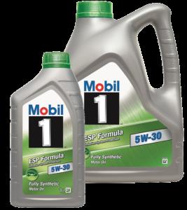 oleje Mobil
